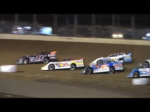 Super Late Model B-Main from Portsmouth Raceway Park, September 4th, 2021. - dirt track racing video image