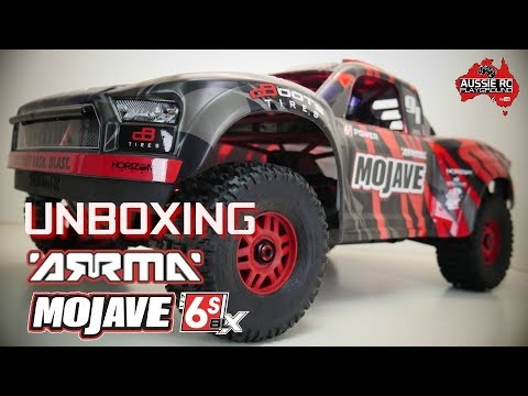 Unboxing: ARRMA Mojave 6S BLX 1/7 Scale Desert Truck - UCOfR0NE5V7IHhMABstt11kA