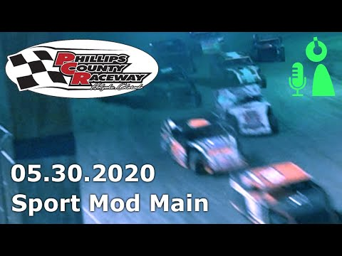 Sport Mod Main Phillips County Raceway 05.30.2020 - dirt track racing video image