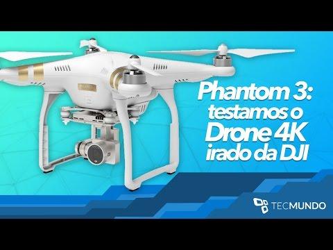 Phantom 3: testamos o Drone 4K irado da DJI - TecMundo