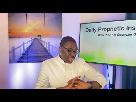 Prophetic Insight March 30th, 2021