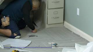FlooringInc Carpet Tile Office Installation
