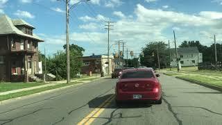 Driving in Detroit, Michigan 🇺🇸