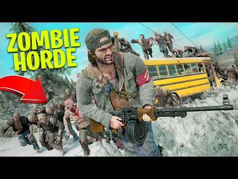 Fighting a ZOMBIE HORDE in Days Gone! - UC2wKfjlioOCLP4xQMOWNcgg