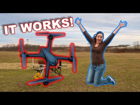 Everything WORKS!  Simple & Effective Camera Drone - MJX X708P WiFi FPV - TheRcSaylors - UCYWhRC3xtD_acDIZdr53huA