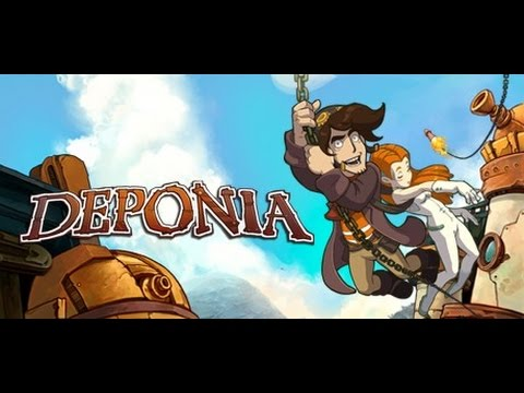 Enter for a chance to win a PC Steam key to unlock a copy of Deponia: The Complete Journey Giveaway Image
