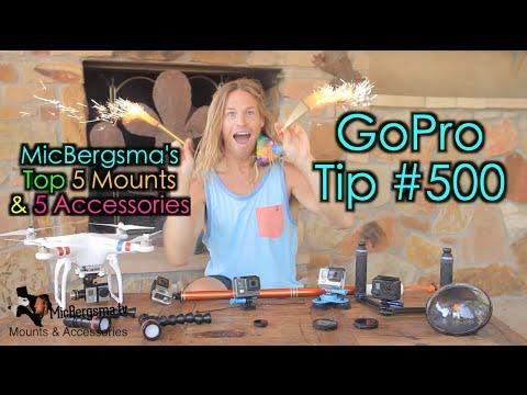 MicBergsma's Top 5 Mounts / 5 Accessories - GoPro Tip #500 !!! - UCTs-d2DgyuJVRICivxe2Ktg