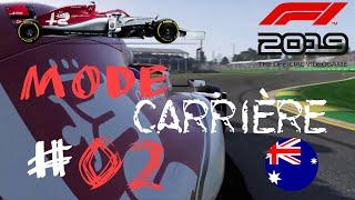 F1 2019 - CARRIÈRE #2 - MELBOURNE A OUBLIER !!!!!