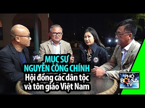 Mục sư Nguyễn Công Chính và Hội đồng các Dân tộc & Tôn giáo Việt Nam