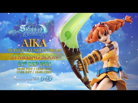 First 4 Figures Skies of Arcadia � Aika Statue Giveaway Giveaway Image