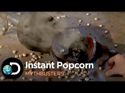 How To Make Instant Popcorn | Mythbusters - UCZ6I2Buum30TpLQTB_vEm2g
