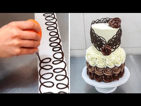 Chocolate Decoration Cake - Decorando con Chocolate by Cakes Step by Step - UCjA7GKp_yxbtw896DCpLHmQ