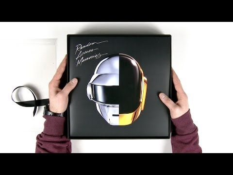 Daft Punk R.A.M. Deluxe Box Set Unboxing - UCsTcErHg8oDvUnTzoqsYeNw