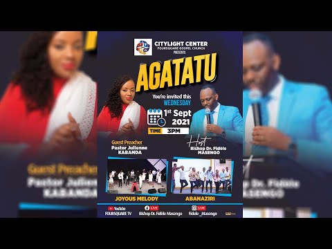 FOURSQUARE TV  70 DAYS OF GREATER GLORY  - DAY 61 WITH BISHOP GAKAMBA INNOCENT 02.09.2021
