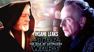 INSANE The Rise Of Skywalker Leaks! WARNING (Star Wars Episode 9)