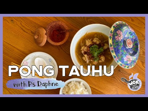 PONG TAUHU with Ps. Daphne  WOK FROM HOME  Cornerstone Stay Home Series  EP.6 (SEASON FINALE)