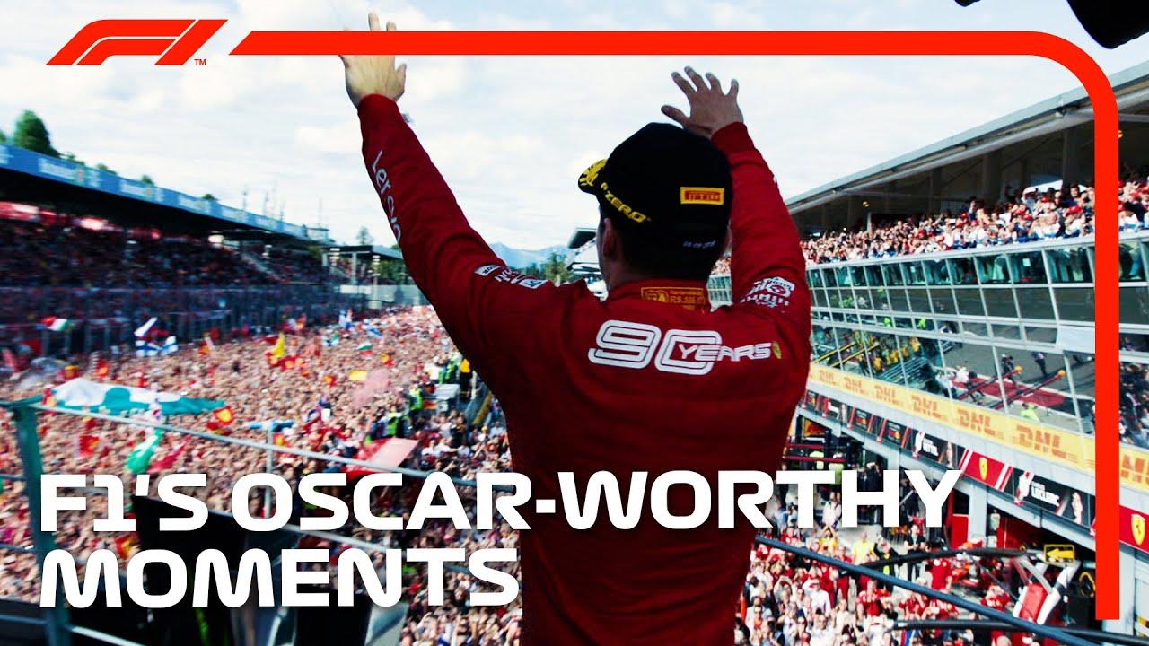 F1's Most Oscar-Worthy Moments!