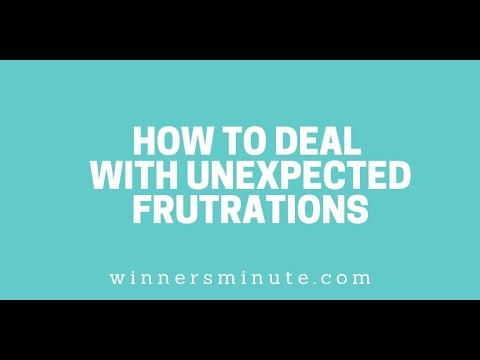 How to Deal With Unexpected Frustrations // The Winner's Minute With Mac Hammond