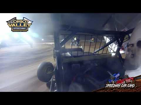 #8D Josh Davis - Ohio Valley Speedway 4-23-21 - Sprint Car - In-Car Camera - dirt track racing video image