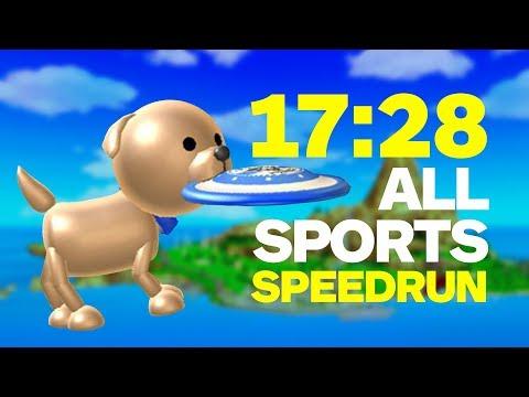 "Wii Sports Resort: Impressive ""All Sports"" Speedrun - UCKy1dAqELo0zrOtPkf0eTMw"