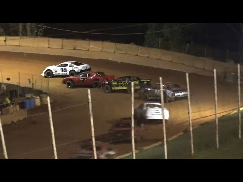 Stock V8 at Winder Barrow Speedway October 9th 2021 - dirt track racing video image