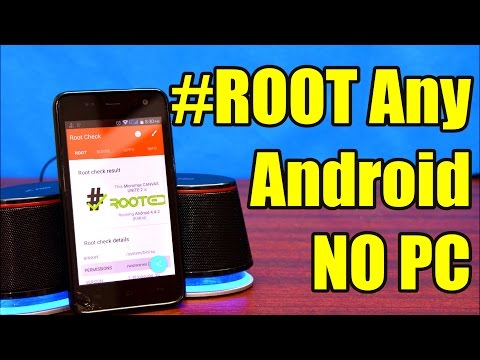 How to ROOT Any Android Device Without A Computer |One Touch Root (2018) - UCj1nicirpOUXjXsaB4UOfDA