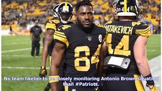 Antonio Brown to the Patriots Makes Complete Sense