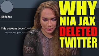Real Reason Why Nia Jax Has REMOVED & DELETED WWE Social Media! Why AJ Styles vs HBK Never Happened!