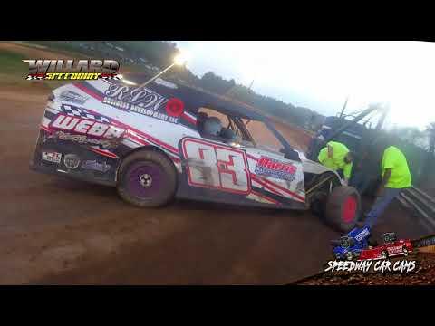 #83 Brianna Robinson - Open Mod - 8-7-21 Willard Speedway - dirt track racing video image