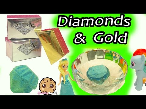 Surprise Dig It Digging Diamonds & Gold Bars In Water with My Little Pony - Cookie Swirl C Video - UCelMeixAOTs2OQAAi9wU8-g