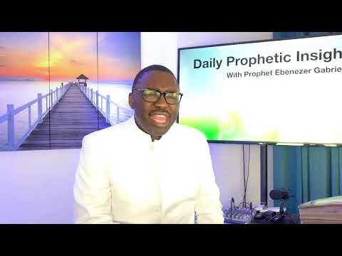 Prophetic Insight September 30,2021