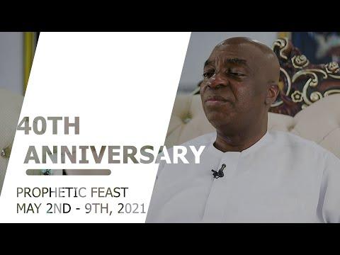 40th Anniversary of the Living Faith Church Worldwide