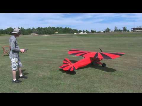 10-10-16 Maiden Day - BeelzeCub 1/3 Scale 120cc TWM Clipped Wing Cub - UCDDPMbnhTCmloJdaZquu-pQ