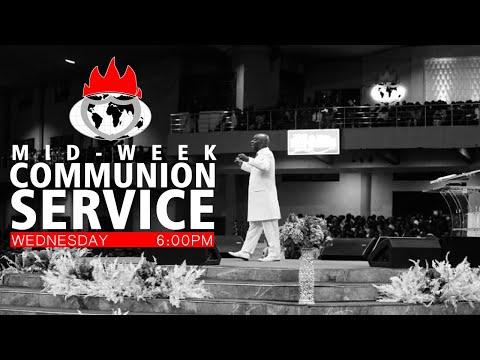 DOMI STREAM: MID-WEEK COMMUNION SERVICE  26, FEB. 2020
