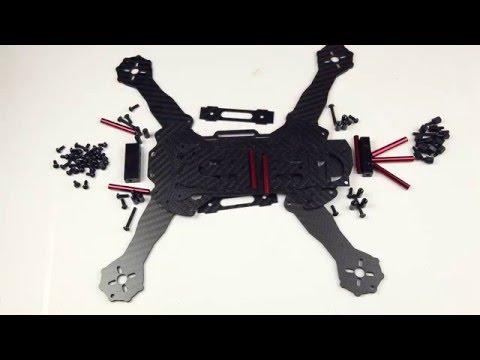 Robocat 270mm FPV Racer Quad kit Assembly Part 1 - UCndiA86FXfpMygSlTE2c70g