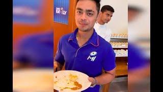 Mumbai indians के खिलाड़ियों की ताकत का राज़ देखिये ये Video