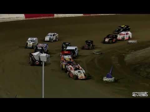 Mod Lites Feature-East Bay Raceway Park 8/7/21 - dirt track racing video image
