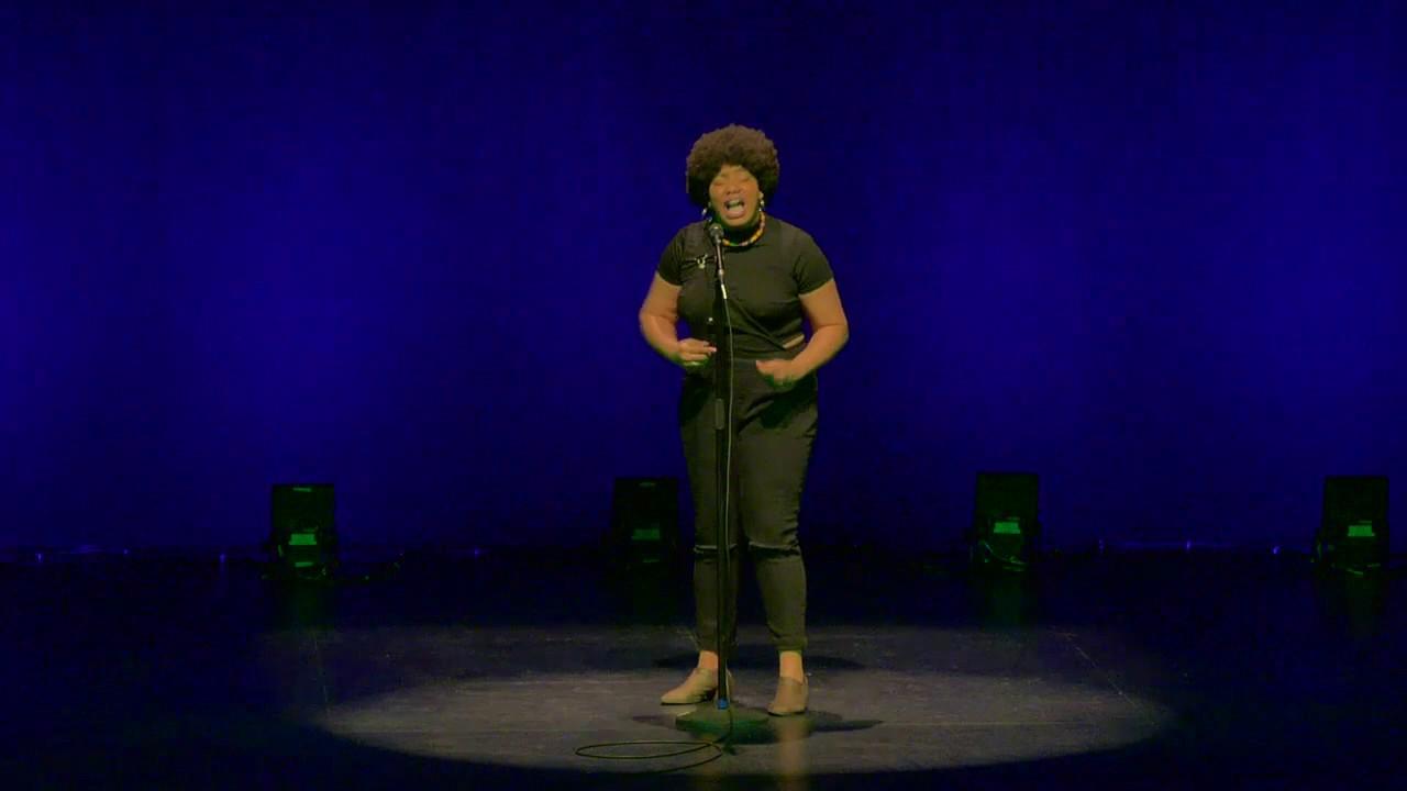 2017 Women of the World Poetry Slam - Ashley August
