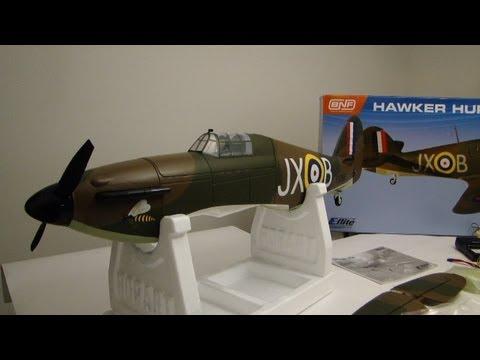 E-Flite Hawker Hurricane 25e with Retracts | Racer lt