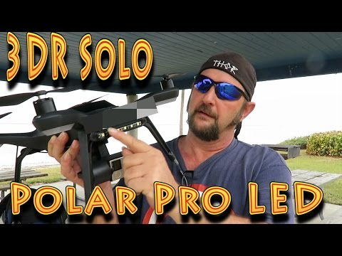 Review: 3DR Solo Smart Drone Polar Pro LED Lights!!! (01.10.2016) - UC18kdQSMwpr81ZYR-QRNiDg