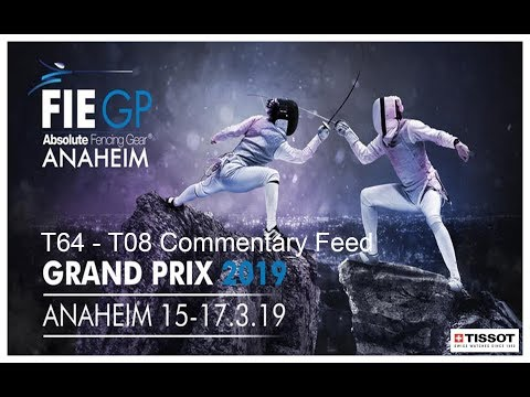Anaheim Foil Grand Prix 2019 - Daily Feed