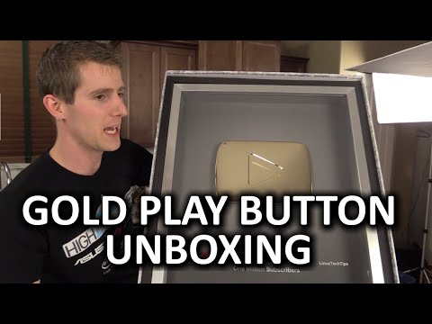 GOLD Play Button Unboxing (1 Million Subs) & Linus Tech Tips Early 2015 Update - UCXuqSBlHAE6Xw-yeJA0Tunw