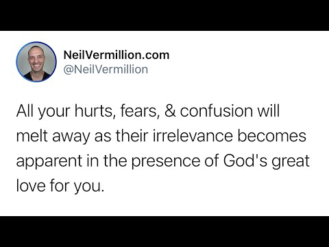 The Irrelevance Of Your Hurts, Faults, Fears, And Confusion - Daily Prophetic Word
