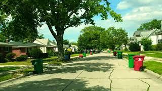 Driving to Warren, Michigan from Eastpointe, Michigan