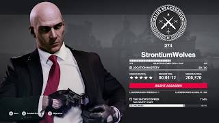 HITMAN 2 Identity Thief silent assassin in 1m 12s Elusive target