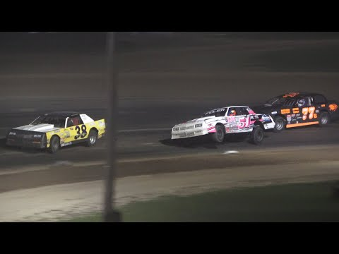 Street Stock A-Feature at Crystal Motor Speedway, Michigan on 09-18-2021!! - dirt track racing video image