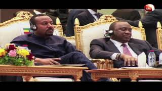 Uhuru, regional leaders witness signing of transitional govt pact in Sudan