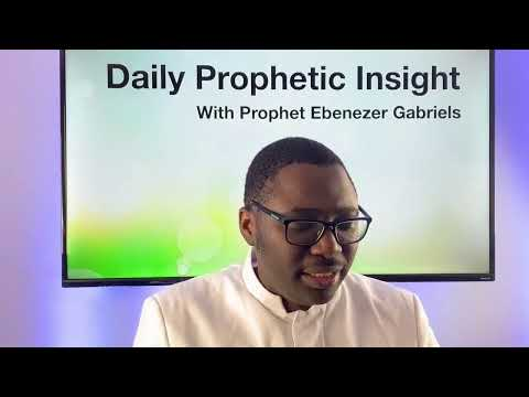 PROPHETIC insight Jan 20th, 2021