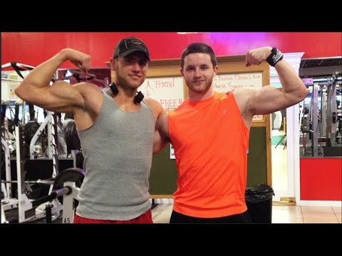 Met a Subscriber, Chest and Back Training & FOOD! (AMPT Ep.22) - UCHZ8lkKBNf3lKxpSIVUcmsg