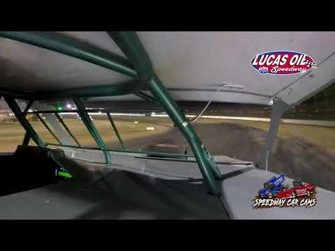 #65 Tyler Davis - Usra Modified - 10-8-2021 Lucas Oil Speedway - In Car Camera - dirt track racing video image
